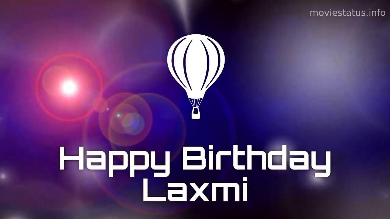 happy birthday laxmi whatsapp status