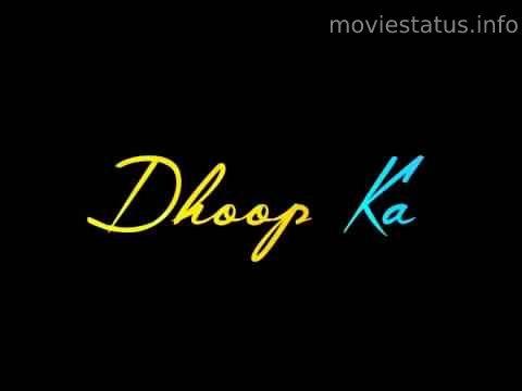 Ek Tukda Dhoop Whatsapp Status