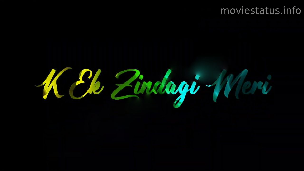 Ek Zindagi Whatsapp Status Video