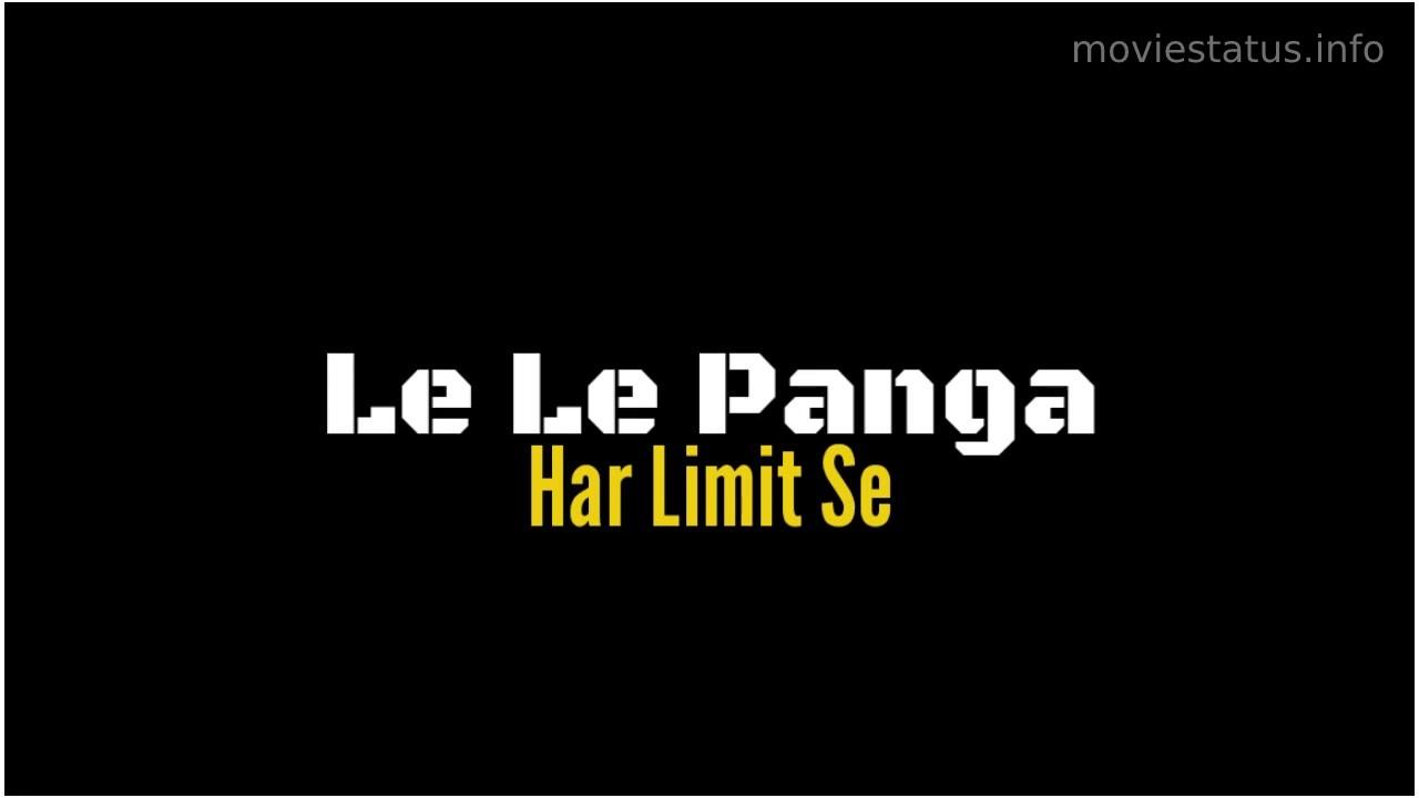 Panga Movie Whatsapp Status Video