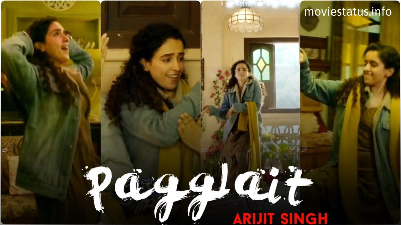 Pagglait Title Song Whatsapp Status